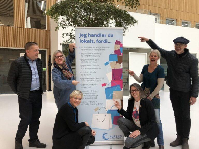 Furesø Erhvervsforening lancerer samlet kampagne for lokal handel