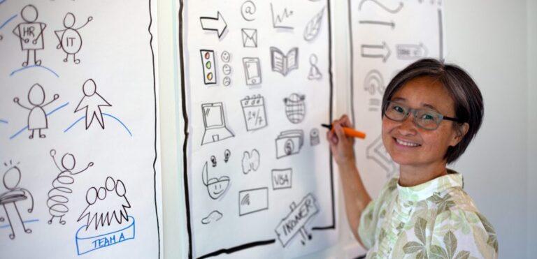 Furesø Erhvervsforening Academy udbyder workshop: Styrk dine grafiske evner med pen & papir